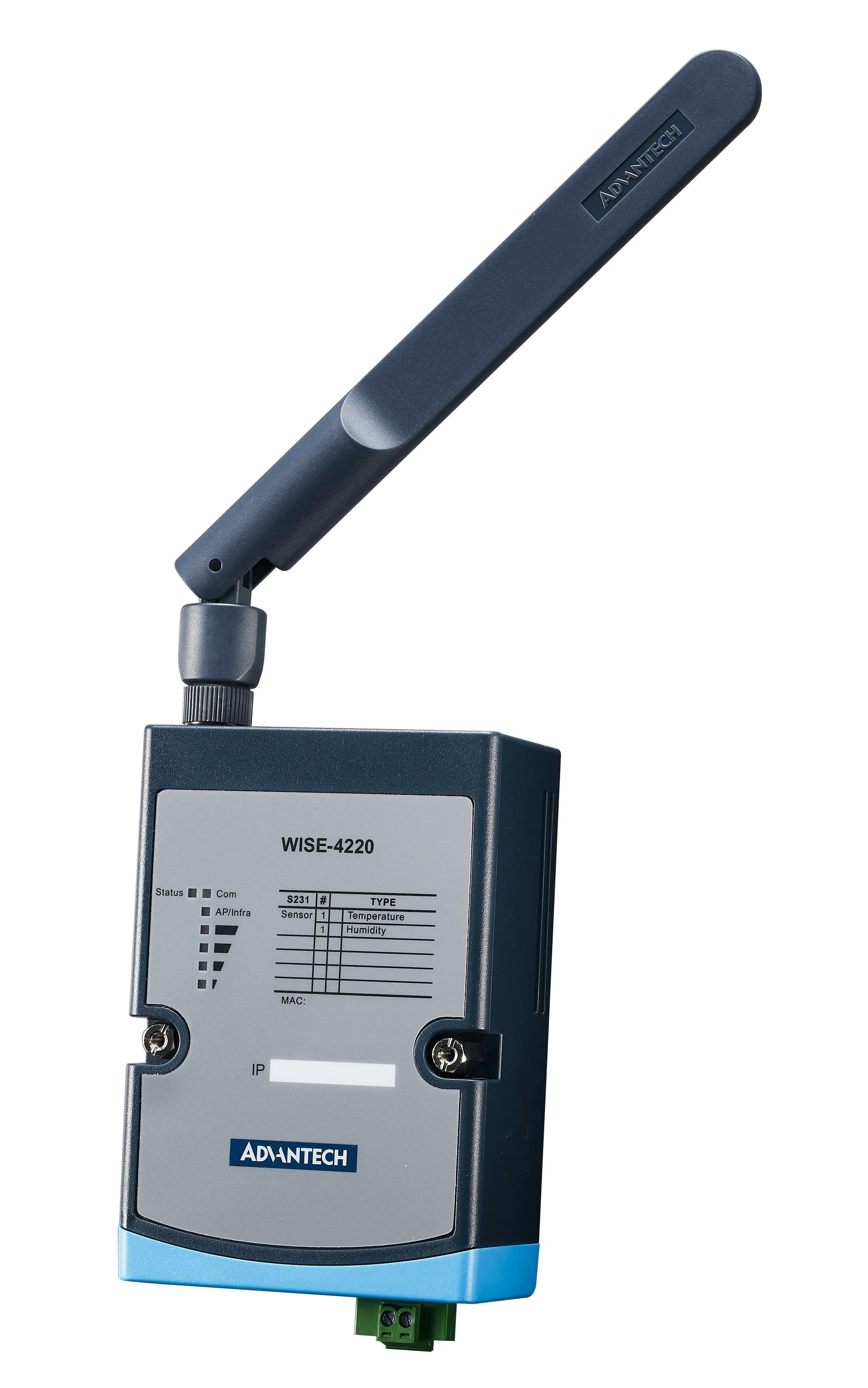 Wireless IoT Sensing Devices: WISE-4000 - Advantech