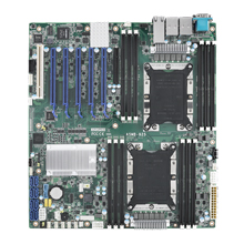 ASMB-815/825/925/975 Xeon Scalable Serverboard with IPMI & 10GbE LAN support (Purley/Skylake-SP Platform)